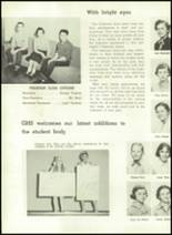 1957 Gillespie Community High School Yearbook Page 70 & 71