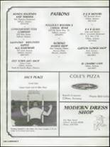 1983 Morenci High School Yearbook Page 112 & 113