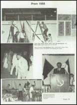 1988 Overton High School Yearbook Page 56 & 57