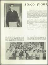 1954 Hutchinson High School Yearbook Page 38 & 39