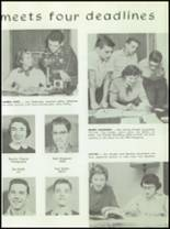 1954 Hutchinson High School Yearbook Page 128 & 129