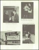 1966 Clinton High School Yearbook Page 34 & 35