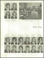 1966 Clinton High School Yearbook Page 58 & 59