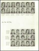 1966 Clinton High School Yearbook Page 70 & 71