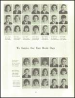 1966 Clinton High School Yearbook Page 72 & 73