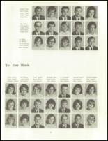 1966 Clinton High School Yearbook Page 74 & 75