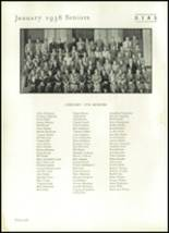 1937 University City High School Yearbook Page 42 & 43