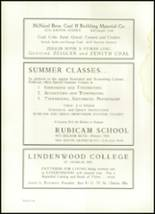 1937 University City High School Yearbook Page 98 & 99