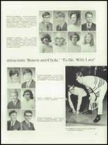 1968 Austin High School Yearbook Page 168 & 169