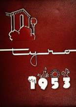 1953 Yearbook San Bernardino High School
