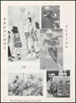 1980 Central High School Yearbook Page 52 & 53