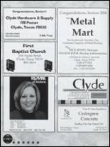 2009 Clyde High School Yearbook Page 176 & 177