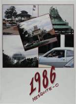 1986 Yearbook Mesquite High School