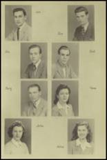 1943 New Milford High School Yearbook Page 12 & 13