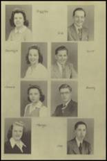 1943 New Milford High School Yearbook Page 14 & 15