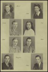 1943 New Milford High School Yearbook Page 16 & 17