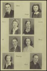 1943 New Milford High School Yearbook Page 18 & 19