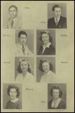1943 New Milford High School Yearbook Page 20 & 21