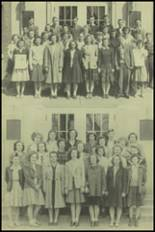 1943 New Milford High School Yearbook Page 34 & 35