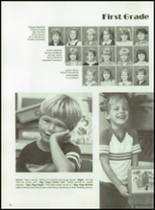 1985 First Baptist Church School Yearbook Page 86 & 87