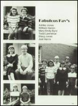 1985 First Baptist Church School Yearbook Page 106 & 107