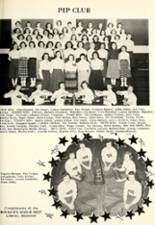 1957 Liberal High School Yearbook Page 32 & 33