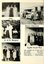 1957 Liberal High School Yearbook Page 56 & 57