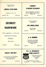 1957 Liberal High School Yearbook Page 62 & 63