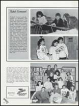 1989 Northeast Hamilton High School Yearbook Page 40 & 41