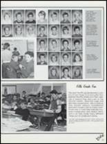 1989 Northeast Hamilton High School Yearbook Page 86 & 87
