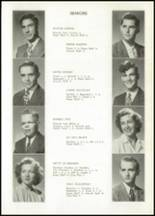 1948 Galveston High School Yearbook Page 14 & 15