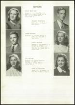 1948 Galveston High School Yearbook Page 16 & 17