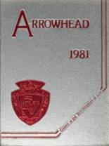 1981 Yearbook Chippewa Valley High School