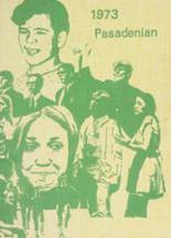 1973 Yearbook Pasadena High School