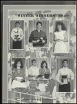 1990 Casey-Westfield High School Yearbook Page 104 & 105