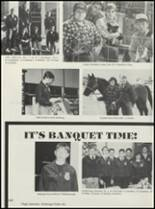 1990 Casey-Westfield High School Yearbook Page 116 & 117