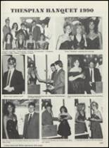1990 Casey-Westfield High School Yearbook Page 126 & 127