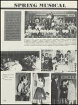 1990 Casey-Westfield High School Yearbook Page 128 & 129