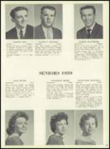 1959 Bensalem High School Yearbook Page 70 & 71