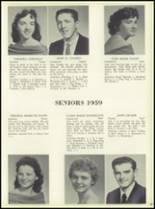 1959 Bensalem High School Yearbook Page 72 & 73