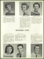 1959 Bensalem High School Yearbook Page 80 & 81