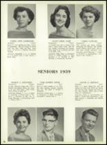 1959 Bensalem High School Yearbook Page 82 & 83