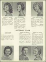1959 Bensalem High School Yearbook Page 84 & 85