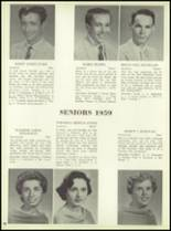 1959 Bensalem High School Yearbook Page 92 & 93