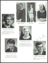 1971 Lawrenceville Catholic High School Yearbook Page 18 & 19