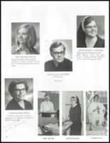 1971 Lawrenceville Catholic High School Yearbook Page 20 & 21