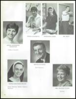1971 Lawrenceville Catholic High School Yearbook Page 22 & 23