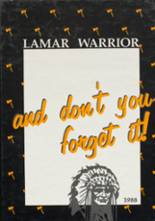 1988 Yearbook Lamar High School