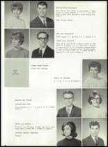 1966 Lake Park High School Yearbook Page 36 & 37
