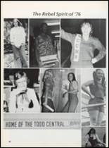 1976 Todd County High School Yearbook Page 52 & 53